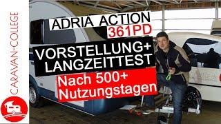 Test: Wohnwagen Adria Action 361PD: Vor- & Nachteile + Langzeittest