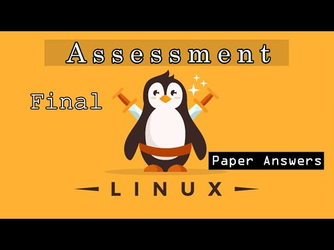 Cisco NDG Linux Unhatched final paper Answers - YouTube