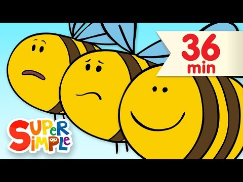 Here Is The Beehive  | + More Kids Songs | Super Simple Songs