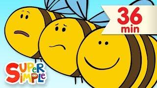 Here Is The Beehive  | + More Kids Songs | Super Simple Songs