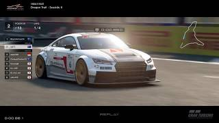 Gran Turismo™SPORT - Dragon Trail Seaside II Audi TT RS Gr4 (online race) v2
