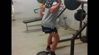 Back Squat Progress - Locky