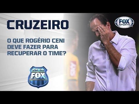 O que Rogério Ceni deve fazer para recuperar o Cruzeiro?