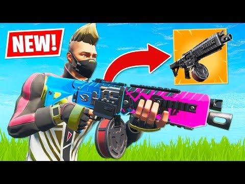 *NEW* Drum Shotgun in Fortnite!! (Fortnite Battle Royale)