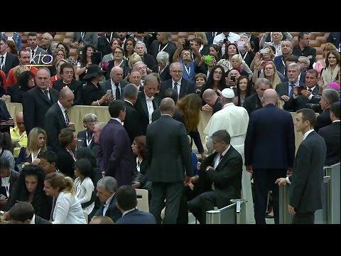 Audience du Pape aux familles des victimes de l'attentat de Nice