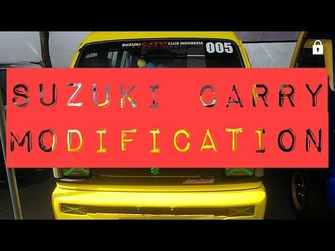 Video BUAT YANG PUNYA MOBIL SUZUKI CARRY... LIHAT INI !!! INSPIRASI MODIFIKASI MOBIL SUZUKI CARRY