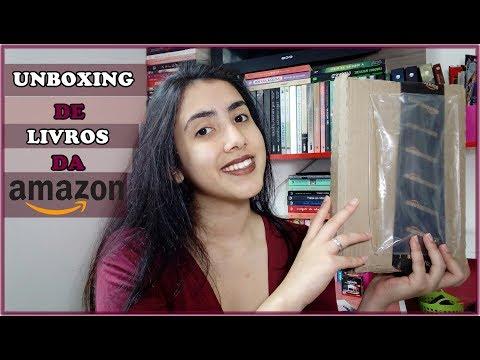 UNBOXING AMAZON | Leticia Ferfer | Livro Livro Meu