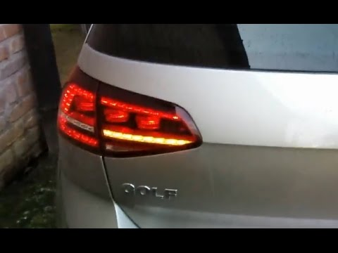 VW Golf 7 (5G) Rear LED Blinker in opposite phase