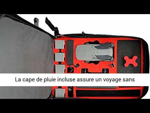 mc-cases Sac à Dos pour DJI Mavic Air 2 - Contrôleur Standard ou DJI Smart Controller