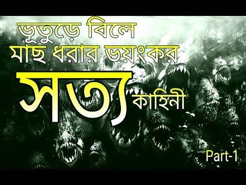 Horror story,,ভুতের বিলে মাছ ধরার ভয়ংকর কাহিনী।।horror part-1