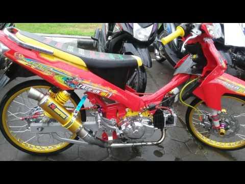 Video Modifikasi Yamaha Vega R Street Racing Warna Merah