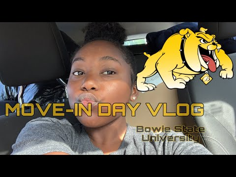 MOVE-IN DAY VLOG 2019 | BOWIE STATE UNIVERSITY 💛🖤
