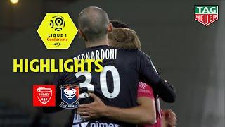 Nîmes Olympique - SM Caen ( 2-0 ) - Highlights - (NIMES - SMC) / 2018-19