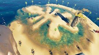 荒岛求生110:我疑似发现了小浪求救信号,意外来到了棕榈岛