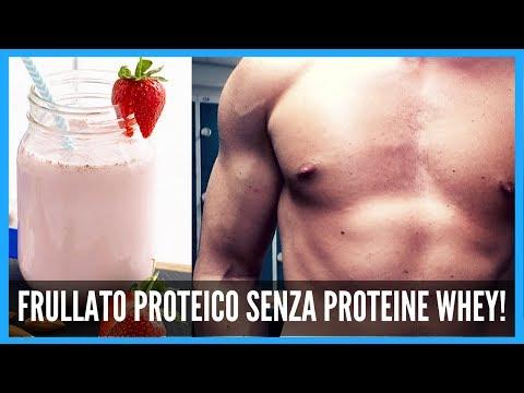 Proteine per perdita di peso di una fotografia
