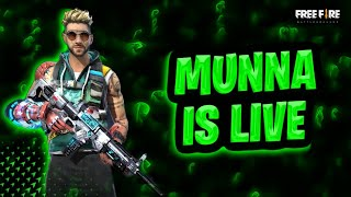Free Fire New Event with Munna Bhai Gaming - Free Fire Live - Free Fire Telugu Live-Garena Free Fire