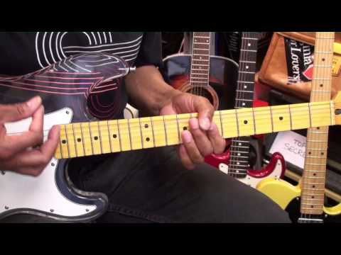 How To Play Funky Nassau The Beginning Of The End Funk Guitar Lesson