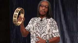 Bashiri Johnson on the LP Professional Tambourines