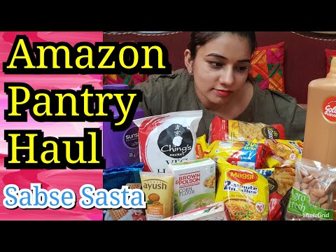 AMAZON Pantry Review | My Lazy & Easy Grocery Shopping | Online Grocery Shopping