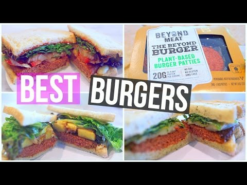 Video 3 HEALTHY & YUMMY Burger Recipes For Lunch or Dinner!