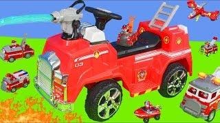 Psi Patrol zabawki - Chase, cięzarówka, strażak Marshall | Paw Patrol toys for kids