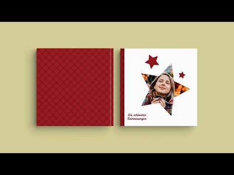 """Inspiration für das Fotobuchcover — """"Schönste Erinnerungen"""""""