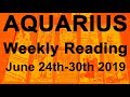 "AQUARIUS WEEKLY TAROT  ""A WISH COMING TRUE! MAGICAL TRANSFORMATION""  June 24th-30th 2019"