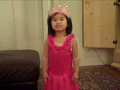 Little Child Girl Sings Hot & Cold - Katy Perry