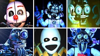Five Nights At Freddys Sister Location ALL JUMPSCARES