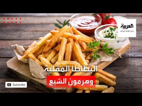 العرب اليوم - شاهد: البطاطا المقلية تؤثر على إنتاج هورمون الشبع
