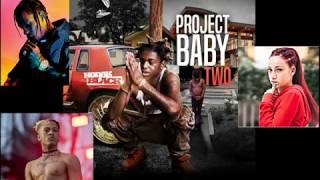 Kodak Black Feat. Travis Scott, XXXTENTACION & Bhad Bhabie   Roll In Peace (Extended Remix)