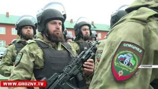 Глава Чеченской Республики поздравил Полк имени Кадырова с 13-летием