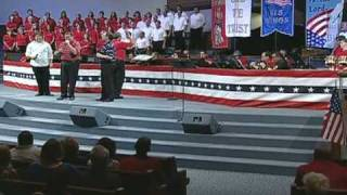 Calvary's Voice singing I Pledge Allegiance To The Lamb NJBC GOD & COUNTRY 2008