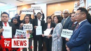Civil society groups call for total repeal of Sosma