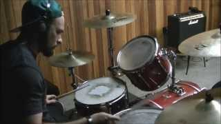 Angels & Airwaves (AVA) - Paralyzed (drum cover)