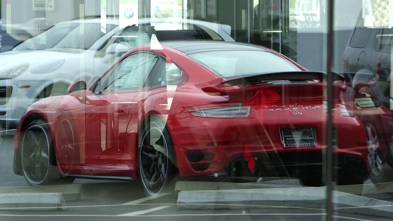 Porsche 911 Turbo S Unveiling