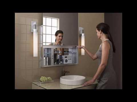 Badezimmer medizin schrank design ideen