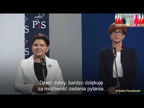 Kompromitacja Beaty Szydło! Internet nie zapomina.