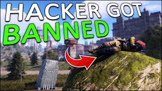 STEALING the AIRDROP from a BANNED HACKER! - Rust Solo #2