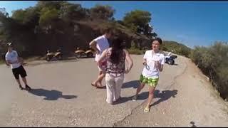 ВИДЕО 360 градусов Греция Катаемся на Квадроциклах Остров Парос