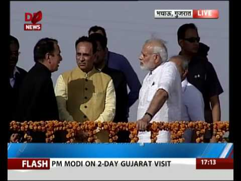 Gujarat: PM inaugurates Narmada Canal Pumping Station in Bhachau