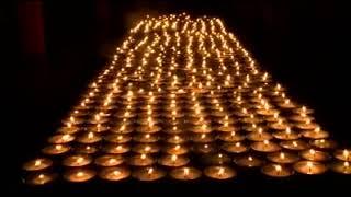 Butter Lamp Offering In Rumtek Monastery During Karmapa Dechoe