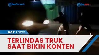 Lagi, Remaja Tewas Terlindas Truk demi Konten Medsos di Tangerang, Polisi Sebut Sopir Tak Bersalah