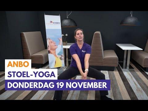 Stoelyoga met Monique - donderdag 19 november