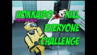 Professional Hokkaido Kill Everyone Challenge! - Hitman
