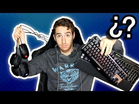 ¿vale la pena comprar ratones y teclados mecánicos gaming CAROS/GAMA ALTA? | Teclado KLIM DOMINATION