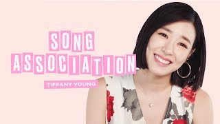 Tiffany Young Sings Mariah Carey and Girls' Generation in a Game of Song Association | ELLE