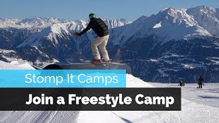 FREESTYLE SKI CAMPS FOR ADULTS | STOMP IT CAMPS