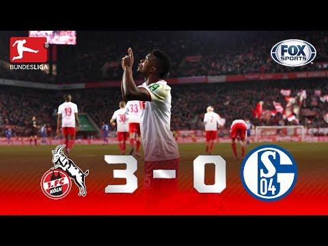 ANOTOU A PLACA? Colônia passou POR CIMA do Schalke 04 na Bundesliga!