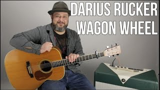 "How To Play ""Wagon Wheel"" By Darius Rucker   Super Easy Acoustic"